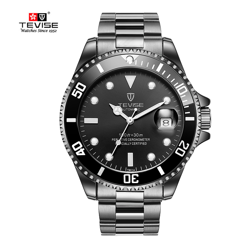 TEVISE Men Auto Date Wristwatches Automatic self-wind Watches Man Sport Watch Mechanical Wristwatches Man watch clock Relojes TEVISE Men Auto Date Wristwatches Automatic self-wind Watches Man Sport Watch Mechanical Wristwatches Man watch clock Relojes