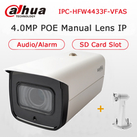 Dahua 4MP Starlight Camera IPC HFW4433F VFAS 2 7 13 5mm Manual Zoom Lens Built In