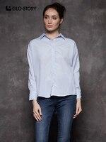 Рубашка с бусинами на манжетах