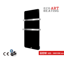 600W Infrared Bathroom Heater Infrared Glass Heater Wall Mounted Infrared Radiant Panel Heater