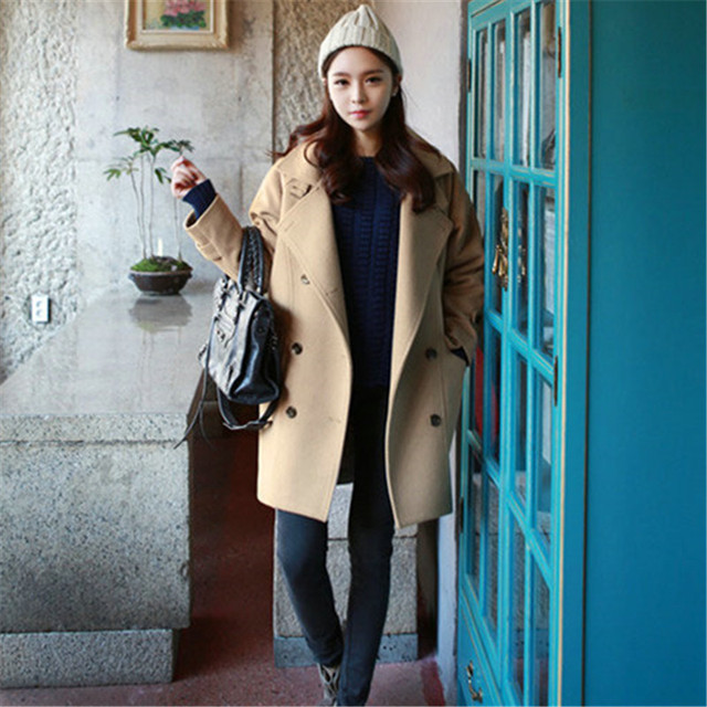Korean street fashion winter