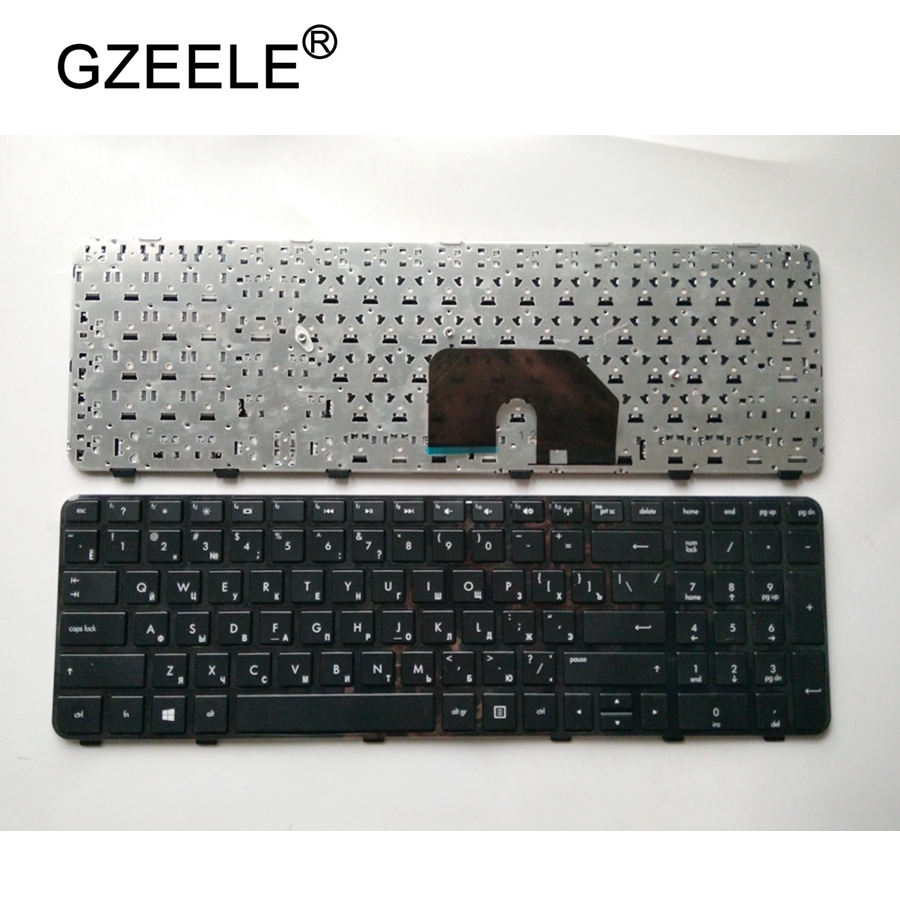 GZEELE Russian Keyboard For HP For Pavilion DV6-6200 DV6-6b00 Dv6-6c00 640436-001 634139-001 665937-251 RU Layout  High-quality