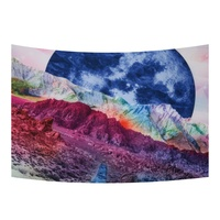 New Rainbow Tapestry Wall Hanging Decorative Tapestry Outdoor Party Beach Picnic Indoor Home Yoga Tapestry Mat