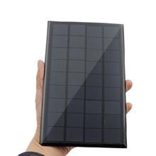מיני 9V 12V 2W 3W 4.2W שמש פנל סולארי כוח פנל מערכת DIY סוללה תא מטען מודול נייד Panneau Solaire אנרגיה