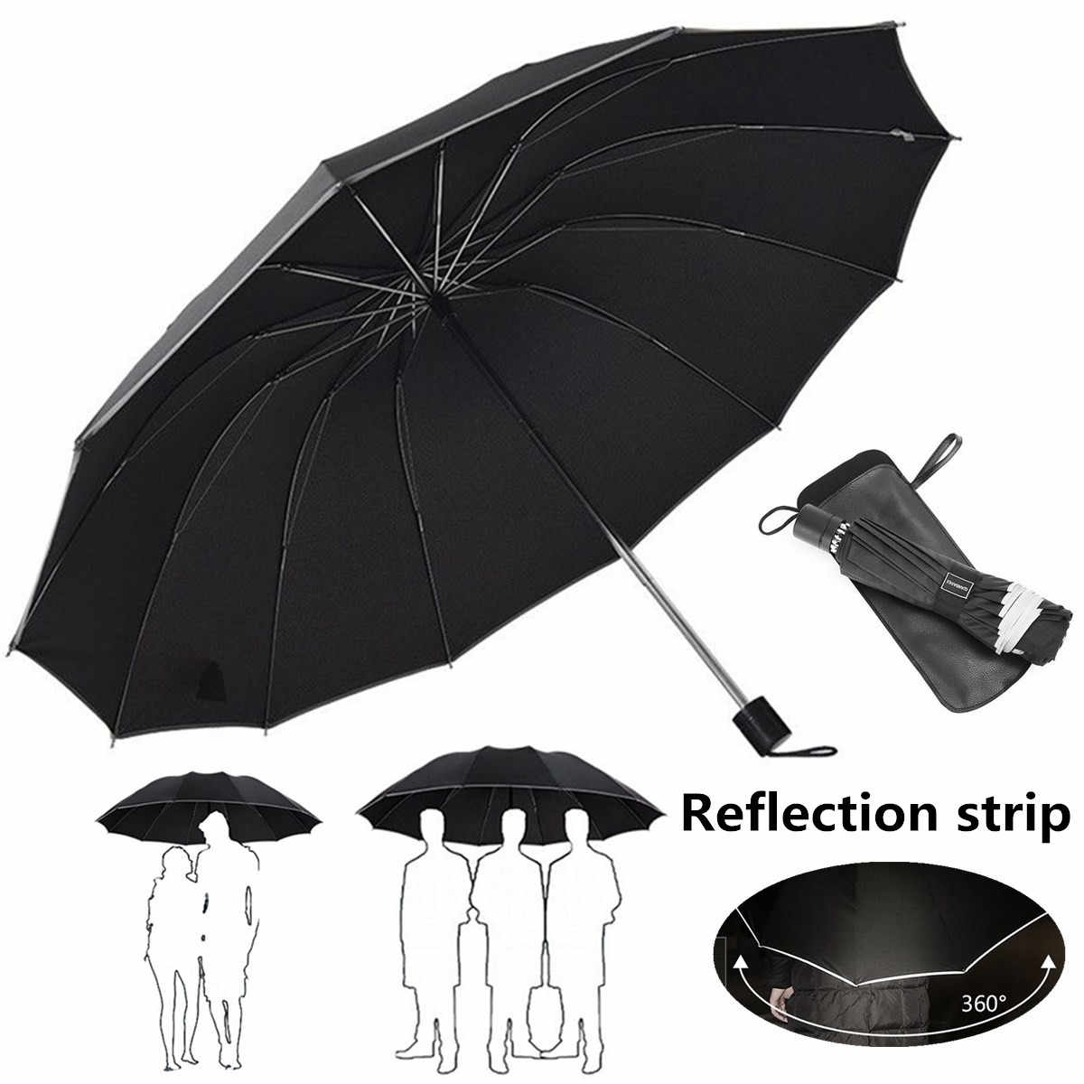 0ca214061f74 Detail Feedback Questions about Large Folding Umbrella Men Rain ...