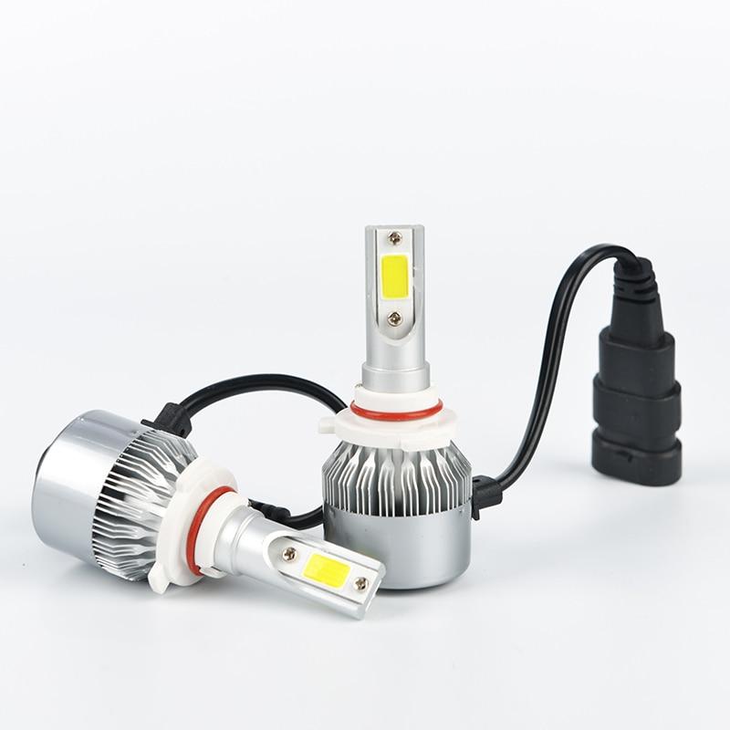H7 Led H4 Car Headlights 72w 7600lm Car Led Light Bulbs H1 H3 H8 H9 H11 9005 9006 Automobiles Headlamp 6000K/3000K Fog Lamp