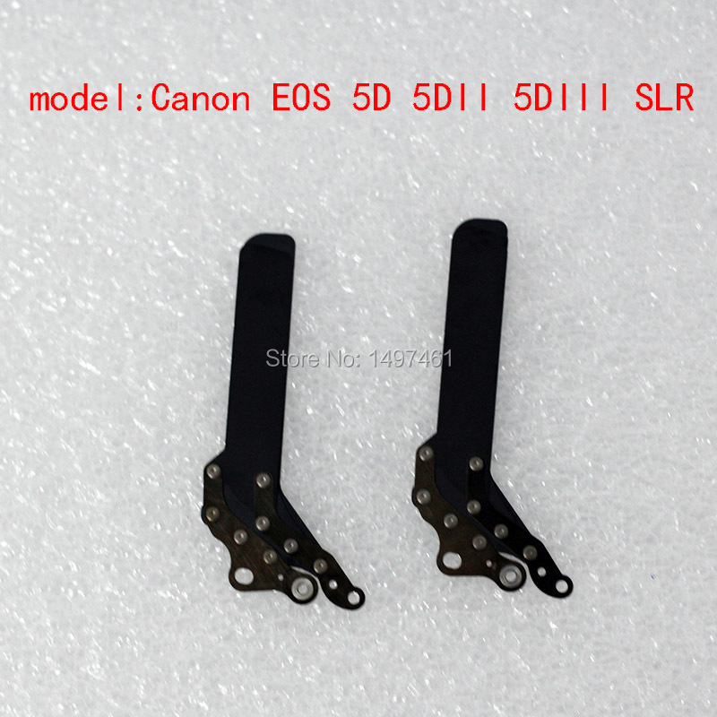 New Original Shutter Blade Curtain/Shutter Blade Repair parts For Canon EOS 5D; 5D Mark II;5DII 5D2 DS126091 DS126201 SLR free shipping 90%new 5d small body for canon 5d mirror box without mirror slr camera repair parts