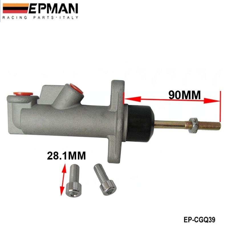 Brake Clutch Master Cylinder 0.625 Remote Hydraulic Handbrake EP-CGQ039