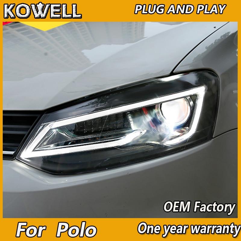 VW Polo 6R Yellow 4-LED Xenon Bright Side Light Beam Bulbs Pair Upgrade