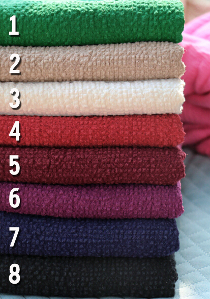 Good Chinese wind winter retro jacquard ultra textured bubble slightly  thick cotton hemp linen cloth fabric 08ba4090fa0e