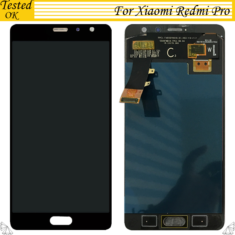 For Xiaomi Redmi Pro LCD display with Touch Screen Digitizer Tested OK for Redmi Pro Screen for Redmi Pro Display free shippingFor Xiaomi Redmi Pro LCD display with Touch Screen Digitizer Tested OK for Redmi Pro Screen for Redmi Pro Display free shipping