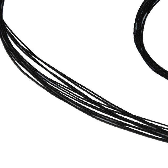 Strands Length Bowstrings Fit Black Replacement Bow String Archery Outdoor Accessories 2