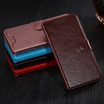 Coque Flip Case para Microsoft Lumia 535 de lujo de cuero PU cartera funda de teléfono KickStand diseño + tarjetero cubierta trasera