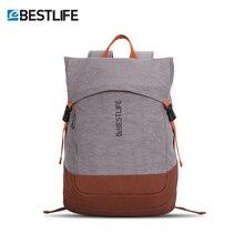 """BESTLIFE خفيفة الوزن الحضرية حقيبة السفر حقيبة للرجال النساء حقيبة 15.6 """"حقيبة كمبيوتر محمول Daypack كلية مدرسة بوي فتاة"""