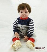 Muñeco reborn de 50 cm con Calcetines de Ositos