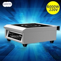 6000 W Commercial Aircraft Easy to operate high power electromagnetic oven high power induction cooking pot soup stove electric