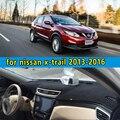 Acessórios de cobre plataforma Instrumento do painel do carro adesivo para nissan x-trail xtrail T32 2013 2014 2015 2016