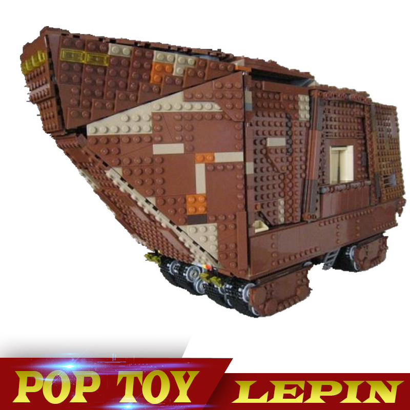 Lepin 05038 3346 Lepin Stern Plan Sandcrawler Bausteine Figures Modell Bricks Spielzeug Kompatibel Mit 75059 lepin 05038 star wars episode iv sandcrawler similar with 75059 buliding kit
