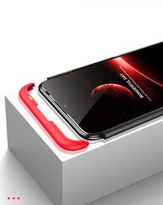 Image 5 - Dla Huawei P Smart 2019 360 stopni pełna ochrona etui z twardego plastiku dla Huawei P Smart 2019 POT LX3 Case szkło hartowane