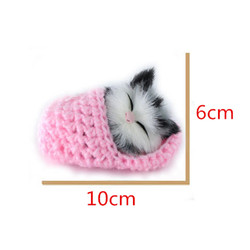 Super cute simulation sounding shoe kittens cats plush toys kids appease doll christmas birthday gifts.jpg 250x250
