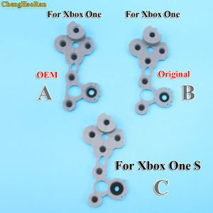 Image 2 - 1x For Xbox One Slim Grey Original Silicon Conductive Rubber Conductive Rubber Button For Xbox One S Controller D Pad