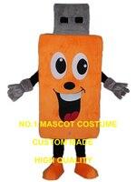 Flash Memory USB mascot costume custom cartoon character cosplay adult size carnival costume 3295