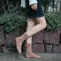 10 Pairs Перл Женщины Носки Для Женщины Моды Бизнес-Леди Случайные Черные Носки Женский Коричневый Короткие Носки Хлопок Новое Прибытие