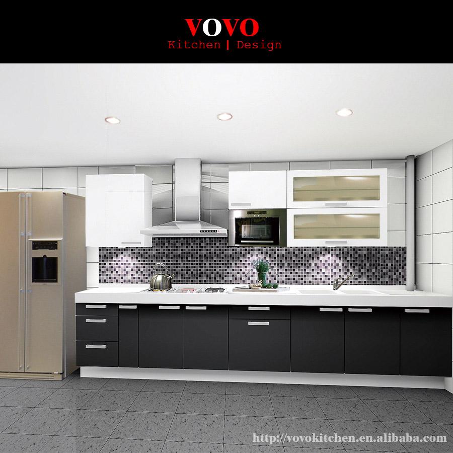 australia estndar de alto brillo gabinete de la cocina moderna