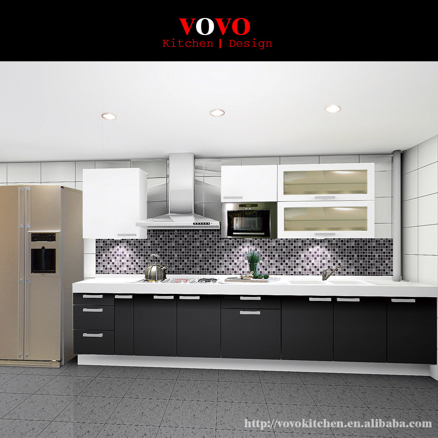 Australia Standard High Glossy Modern Kitchen Cabinet In Kitchen