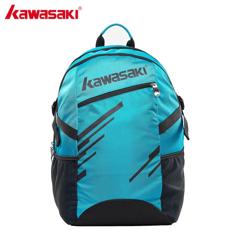 Kawasaki рюкзак Бадминтон Сумки двухкомпонентный профессиональные ракетки спортивная сумка для Для мужчин Для женщин kbb-8235