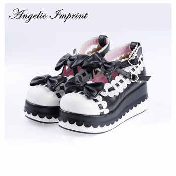 Princess Girls Sweet Bows Wedge Heels Lolita Shoes Platform Winter Shoes Many Colors and Sizes Available - Category 🛒 All Category