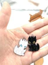 100pcs cartoon Japanese anime Dragon Enamel Metal Charm necklace Pendants DIY Jewelry Making Party Favors
