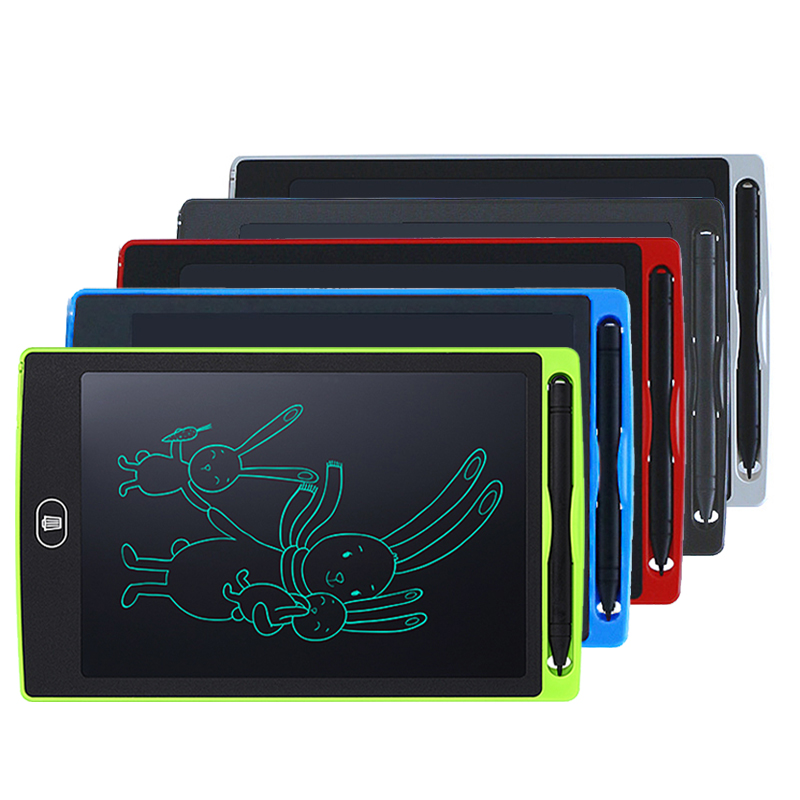 5 Inch LCD Electronic Writing Tablet Digital Drawing Handwriting Pad Black N#S7