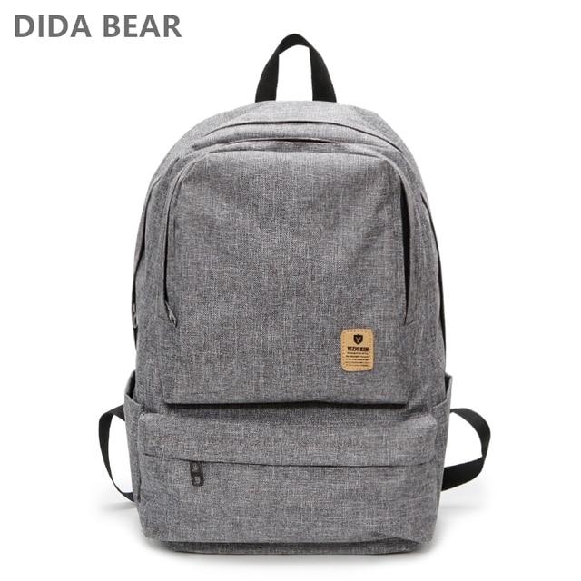 f2a3ab958f Men Backpacks Women Backpack Large Rucksack School Backpack For Teenage  Boys Girls Waterproof Oxford Travel Bag Bolsas Mochilas