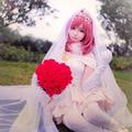 Maki Nishikino Cosplay Love Live! School Idol Project White Satin Wedding Dress Uwowo Costume