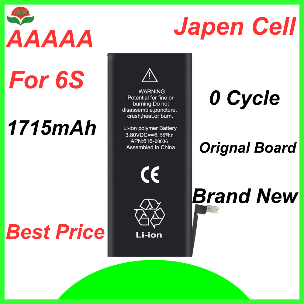 Cycle-Mobile-Battery Battery-Replacement Original-Quality for iPhone 6S ISUN 0 1715mah