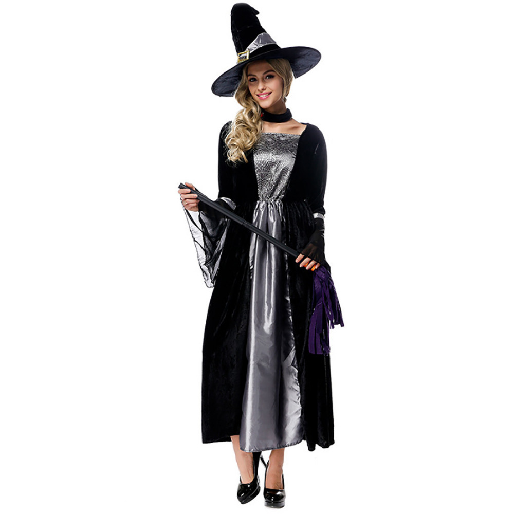 Witch Costume Pattern Custom Decoration