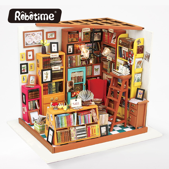 Aliexpress Buy Robotime 48D Puzzle DIY Wooden Decor Collection Mesmerizing 3D Bedroom Design Decor Collection