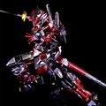 Chapeamento de cor série RG BANDAI Estrela construir Gundam Extraviar Semente Vermelha 1/144 modelo 13 CM Robot Puzzle Anime presentes brinquedos do menino montado