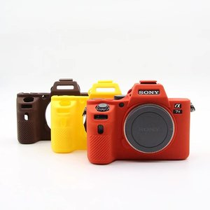 Image 5 - New Soft Silicone Camera case for Sony A7 II A7II A7R Mark 2 Rubber Protective Body Cover Case Skin Camera Bag