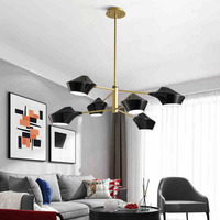 lamps and lanterns of postmodern contracted sitting room bedroom study restaurant personality atmosphere of led lamps