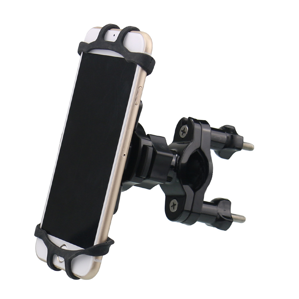Removable navigation bracket Mountain bike road car mobile phone bracket Rubber band mobile phone bracket for motorcycle