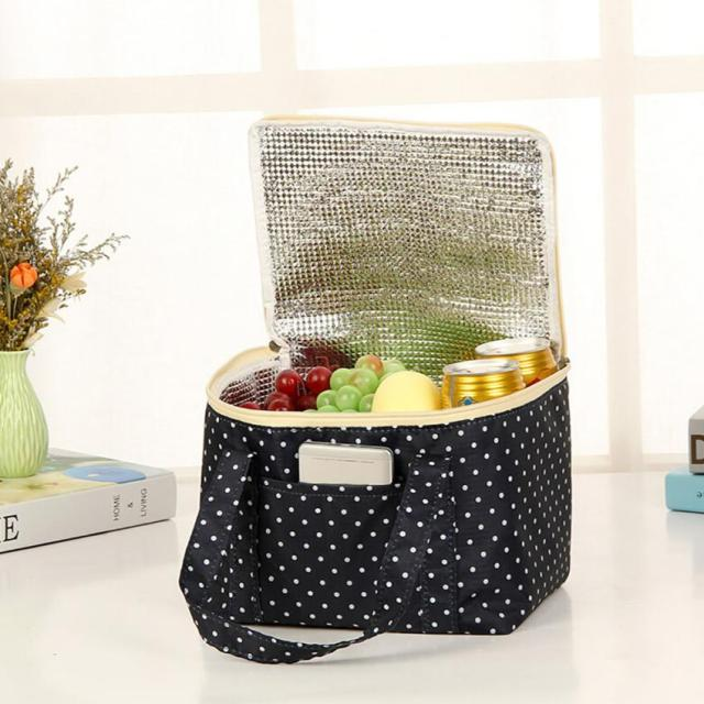Picnic Lunch Bag Stripe Portable Womens Lunch Bag Insulated Thermo Cooler  Bag Storage Piquenique  815 49d9196bc