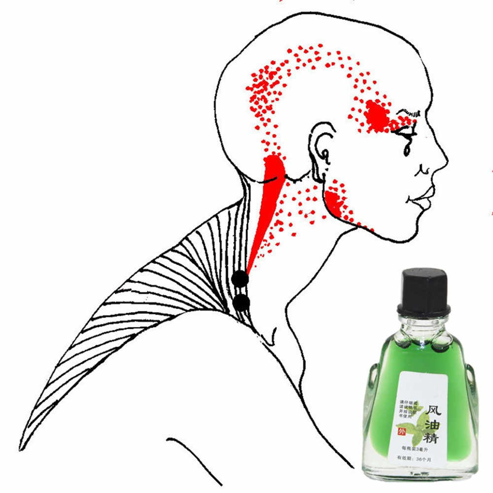 Patch d'huile essentielle anti-douleur chinoise 3 ml/1 bouteille pansements orthopédiques patchs analgésiques douleur corporelle patchs de traitement des rhumatismes