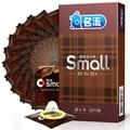 MingLiu 10 piezas 45mm pequeño condones de látex para hombres ultra-fino pequeño durable condones sexo Juguetes