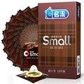MingLiu 30 unids/pack 45mm pequeño condones de látex para hombres ultra-fino pequeño durable condones sexo Juguetes