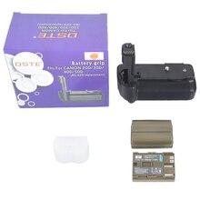 Dste bg-e2n батареи + 2 шт. bp-511 аккумулятор для canon eos 40d 20d 30d 50d цифровые зеркальные камеры
