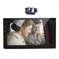 Wireless Camera Android 4 2 Radio Player Car Stereo GPS Navigation WiFi Car Double DIN 7