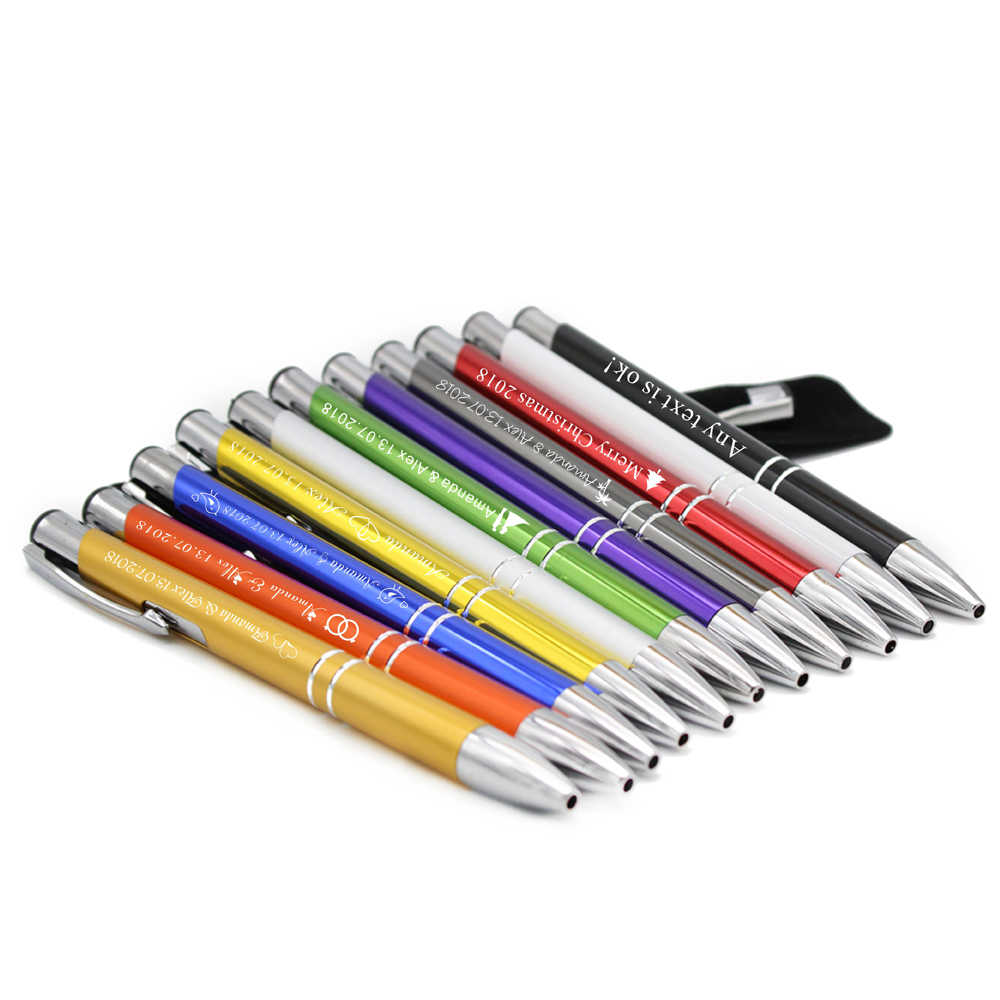 Personalized Engraved Deluxe Metal Pens
