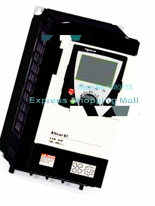 New ATV61H075N4Z VFD 380~480V 2.3A 0.75KW Inverter Input 3ph майка print bar h u m a n z